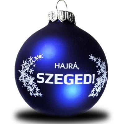 Karácsonyfadísz (kék)